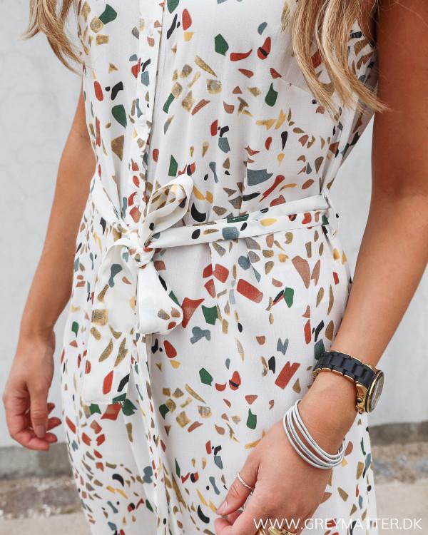 Kjole med print fra Pieces