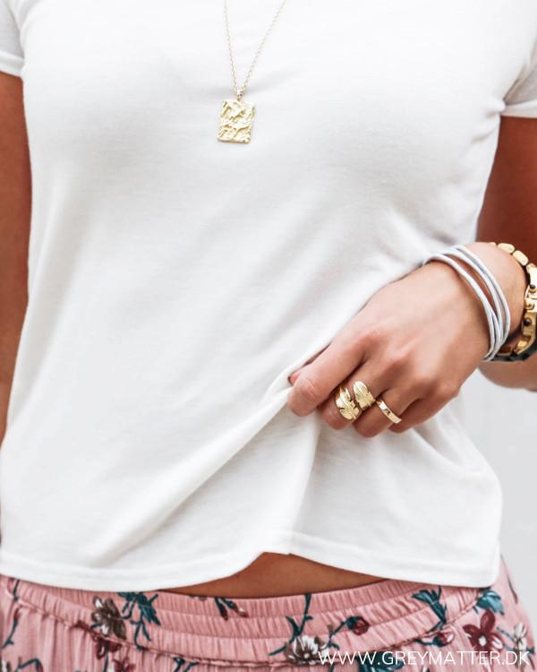 Basis t-shirt til kvinder i blød kvalitet