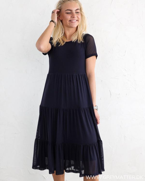 Vila Vidavis Navy Blazer Midi Dress