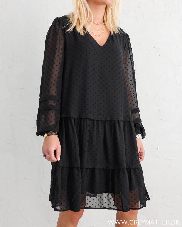 Vila Vimosi Black Dress